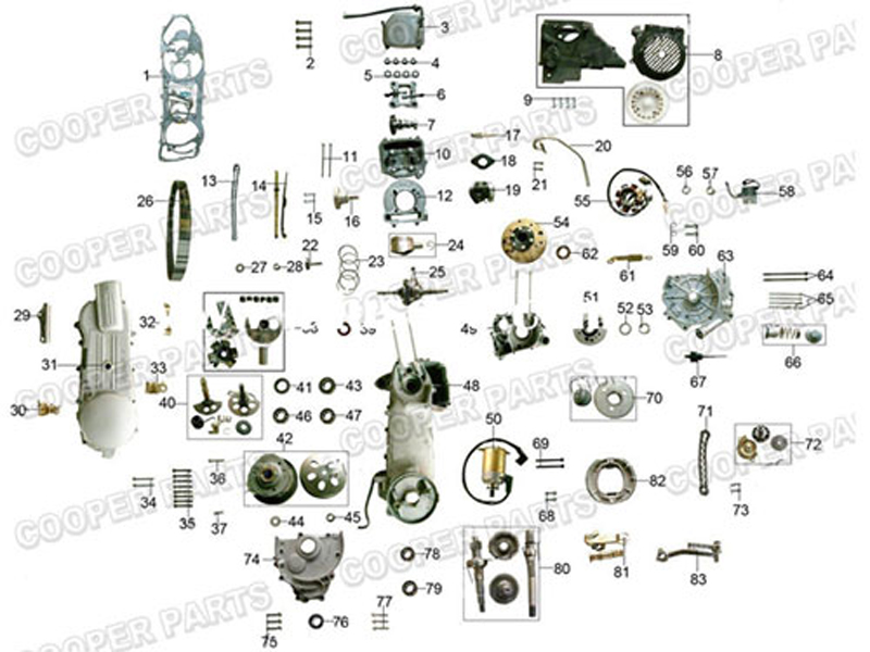 Reach Stacker Spare on Gy6 150cc Carburetor Diagram